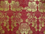 Samotsvet metallic brocade (red/gold)