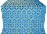Paschal Cross silk (rayon brocade) (blue/gold)