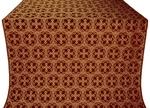 Paschal Cross silk (rayon brocade) (claret/gold)