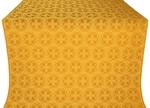 Paschal Cross silk (rayon brocade) (yellow/gold)