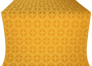 Paschal Cross silk (rayon brocade) (yellow/gold)