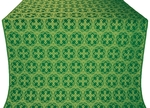 Paschal Cross silk (rayon brocade) (green/gold)