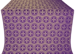 Paschal Cross silk (rayon brocade) (violet/gold)