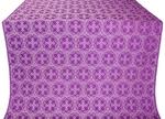 Paschal Cross silk (rayon brocade) (violet/silver)