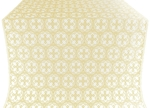 Paschal Cross silk (rayon brocade) (white/gold)