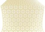 Paschal Cross silk (rayon brocade) (white/gold)
