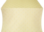 Verona silk (rayon brocade) (white/gold)