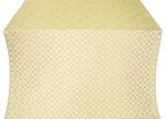 Verona silk (rayon brocade) (white/gold)