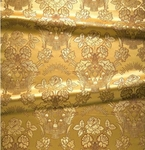 Festal Bouquet metallic brocade (white/gold)