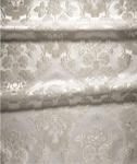 Festal Bouquet metallic brocade (white/silver)