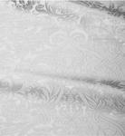 Damask metallic brocade (white/silver)