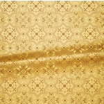 Rhodes metallic brocade (yellow/gold)