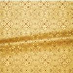 Rhodes metallic brocade (yellow/gold)