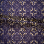 Rhodes metallic brocade (violet/gold)