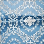 Patras metallic brocade (blue/silver)