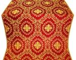 Patras metallic brocade (red/gold)