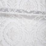 Patras metallic brocade (white/silver)