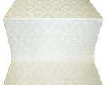 Repka metallic brocade (white/silver)