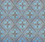 Pharos metallic brocade (blue/gold)