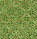 Pharos metallic brocade (green/gold)