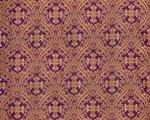 Pharos metallic brocade (violet/gold)