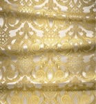 Terem metallic brocade (white/gold)