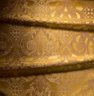 Terem metallic brocade (yellow/gold)