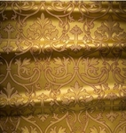 Macedonian metallic brocade (yellow/gold)
