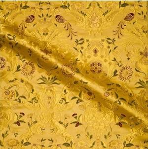 Constantinople metallic brocade (yellow/gold)