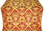 Constantinople metallic brocade (red/gold)