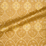 Irakli metallic brocade (yellow/gold)