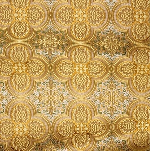 Colchis metallic brocade (yellow/gold)