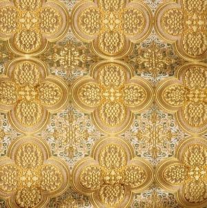 Colchis metallic brocade (yellow/gold)