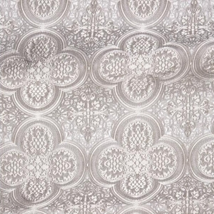 Colchis metallic brocade (white/silver)