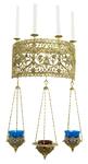 Church wall lamp (4 lights/3 lamps)