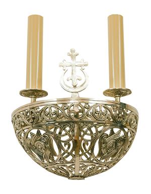 Church wall lamp (3 lights)