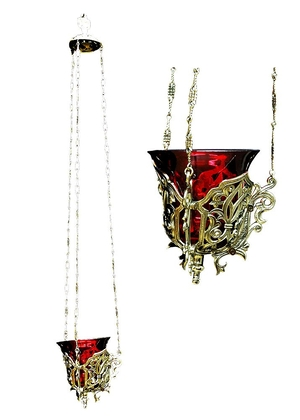 Hanging vigil lamp (small) - 6