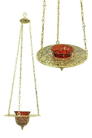 Hanging vigil lamp - 9