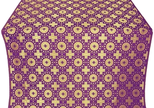 Mira Lycia metallic brocade (violet/gold)