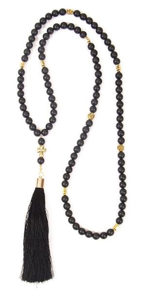 Orthodox prayer rope 100 knots - Shungite