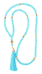 Orthodox prayer rope 100 knots - Turquoise