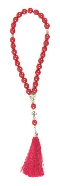 Orthodox prayer rope 30 knots - Majorica