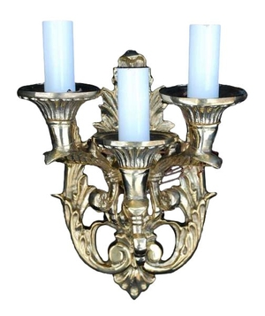 Church 3-light sconce Lyre