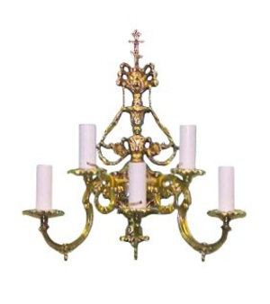 Church 5-light sconce
