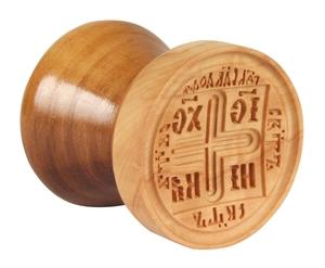 Russian Orthodox prosphora seal NIKA seal no.22 (Diameter: 2.4'' (60 mm))