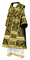 Bishop vestments - Alania metallic brocade B (black-gold), Standard design