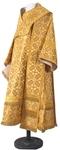 Bishop vestments - metallic brocade B (yellow-claret-gold)