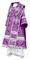 Bishop vestments - Alania metallic brocade B (violet-gold), Standard design