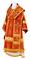 Bishop vestments - Theophania metallic brocade B (red-gold), Standard design
