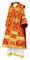 Bishop vestments - Alania metallic brocade B (red-gold), Standard design
